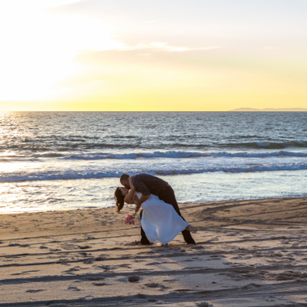 Romantic San Clemente Wedding with Ashley Strong Photography